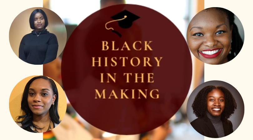 Speciose Nyamatereko, Ashley Coles, Taylor Jenkins and Lark Washington were each selected to receive this year's Black History in the Making honor.