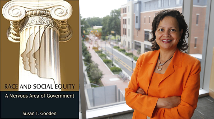 VCU Wilder School Dean Susan Gooden, Ph.D.'s published book, Race and Social Equity: A Nervous Area of Government, receives the Herbert Simon Best Book Award from the Public Administration section of APSA.